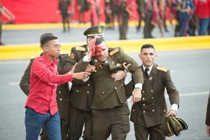 «جنبش ملی سربازان تی شرت پوش» مسئولیت سوء قصد به مادورو را بر عهده گرفت