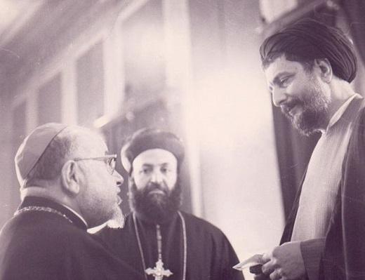 رهبر شیعیان در کلیسای مسیحیت