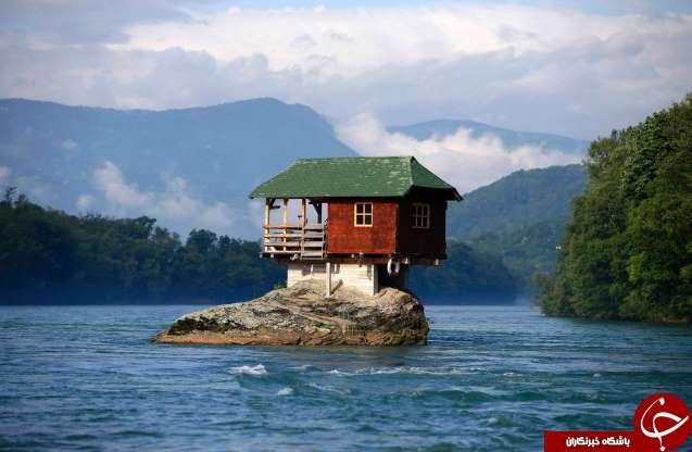 ساختمان هایی عجیب که در غیرممکن ترین مکان ها ساخته شده اند