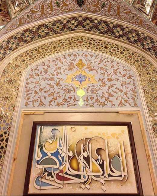 تلفیق هنر با مذهب موجب ماندگاری آن خواهد بود/ به فکر خلق اثر حجمی برای نصب در حرم امام رضا (ع) هستم
