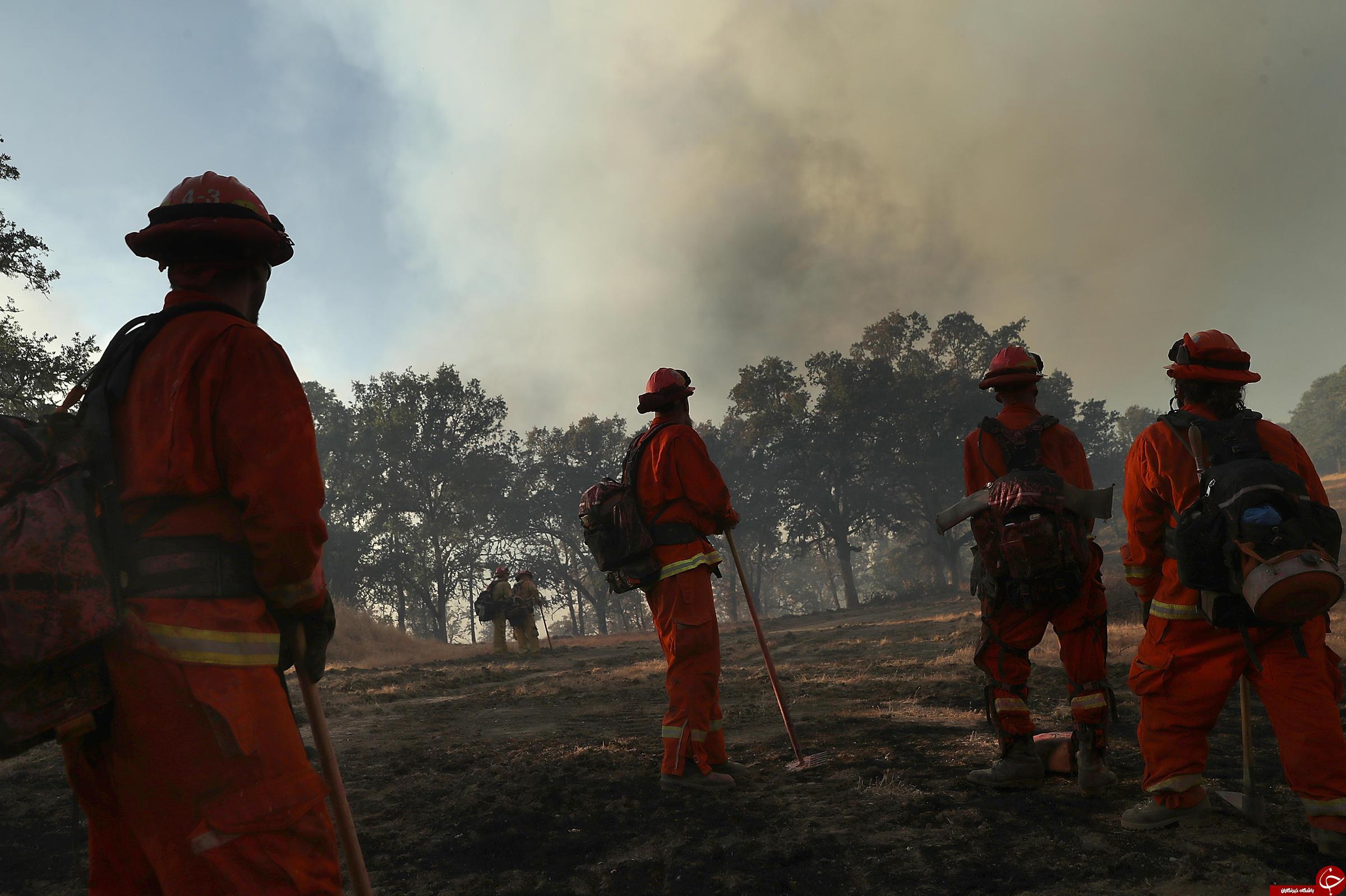 دوزخ در کالیفرنیا؛ بزرگترین آتش سوزی تاریخ آمریکا+ تصاویر
