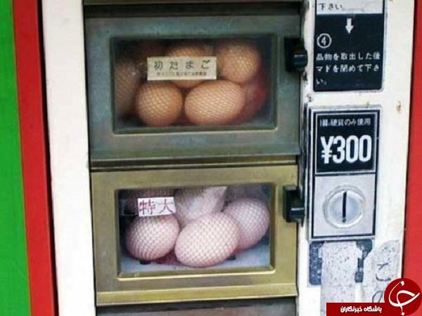 مواردی عجیب که فقط در ژاپن خواهید دید+تصاویر