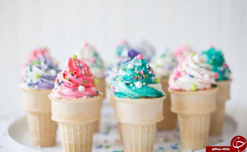 خواص جادویی یک خوراکی بی مثل بنام بستنی! +معایب و تصورات نادرست حول بستنی +عکس ها خوشمزه!:)