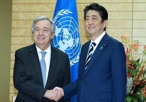 باشگاه خبرنگاران -تاکید دبیرکل سازمان ملل و نخستوزیر ژاپن بر حفظ تحریمهای کره شمالی
