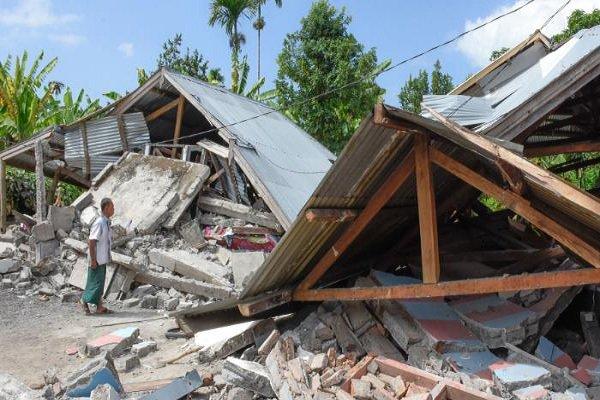 باشگاه خبرنگاران -جزیره «لومبوک» در اندونزی مجددا لرزید
