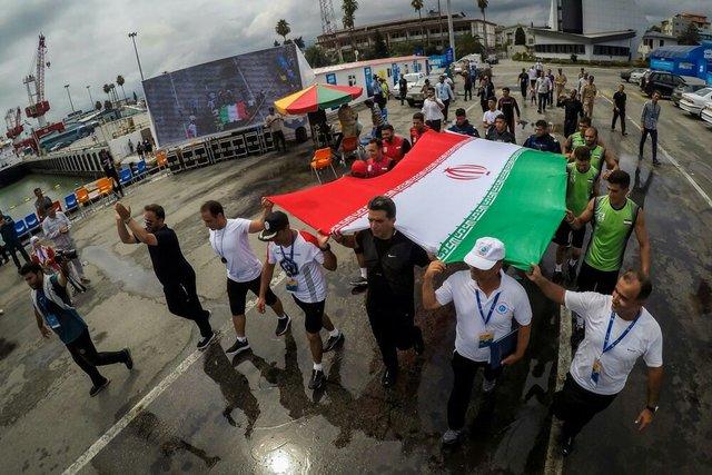 ایران قهرمان مسابقات غواصی ارتشهای جهان شد