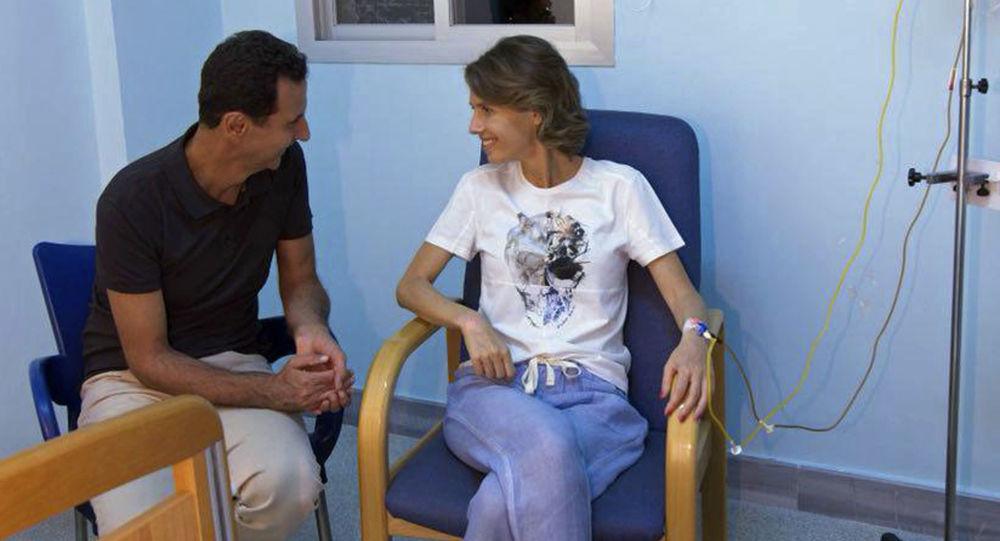 پیام همسر بشار اسد به مردمی که نگرانش هستند+عکس
