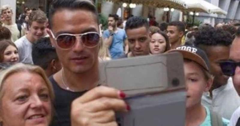 جوانی که شباهتش به رونالدو او را یه شهرت رساند! +تصاویر