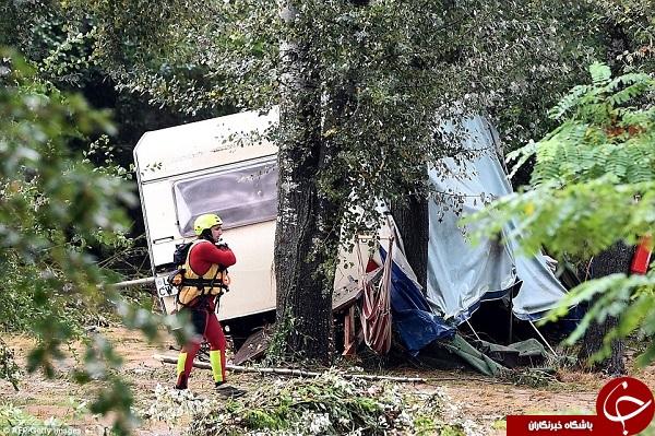 تصاویری از سیل ویرانگر در جنوب فرانسه