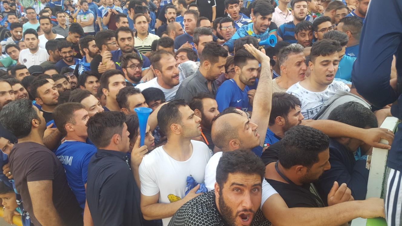 حواشی پیش از دیدار تیم های استقلال تهران و تراکتورسازی تبریز