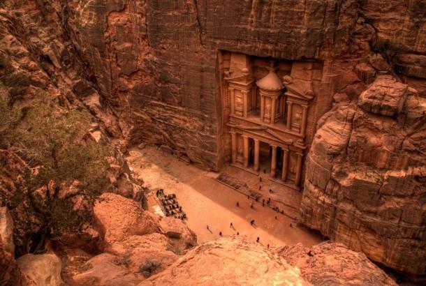 شهری که با تراشیدن کوه توسط جنها ساخته شد