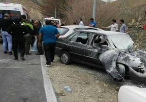 ۳مصدوم در تصادف در جاده پلدختر- خرمآباد