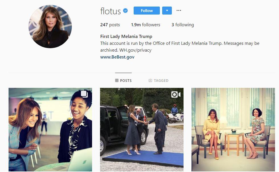 دونالد ترامپ چه کسانی را در اینستاگرام دنبال میکند؟