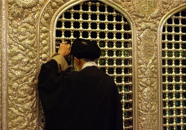 خاطرات مقام معظم رهبری از تشرف به حرم امام رضا (ع)
