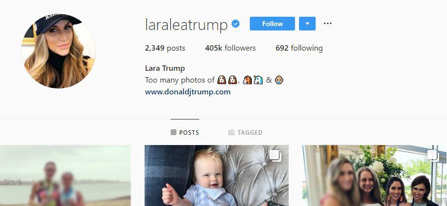 ۸ نفری که دونالد ترامپ در اینستاگرام دنبال میکند چه کسانی هستند؟