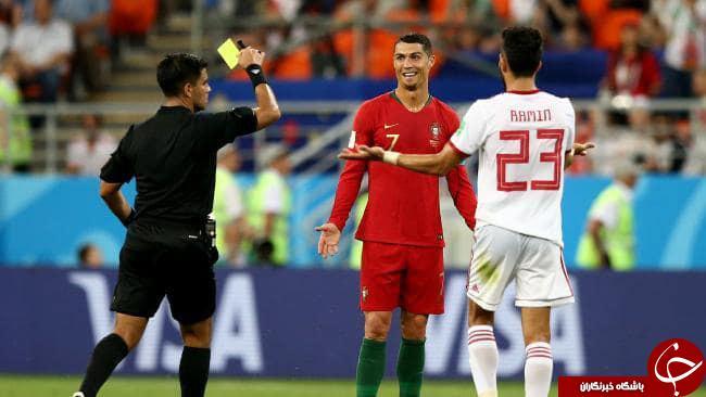 اعتراف تلخ داور بازی ایران - پرتغال در تلویزیون