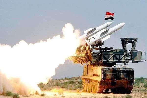 حمله موشکی تروریستها به منطقه الحمدانیه حلب