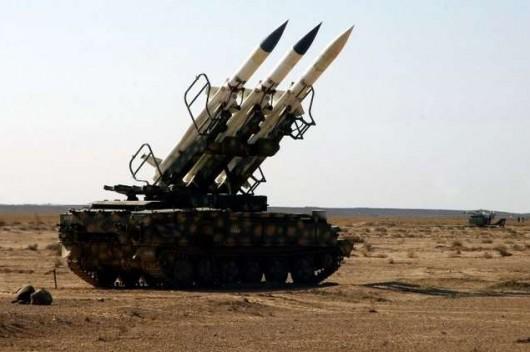 سامانه موشکی سوریه با یک تجاوز هوایی در حریم هوایی غرب دمشق مقابله کرد
