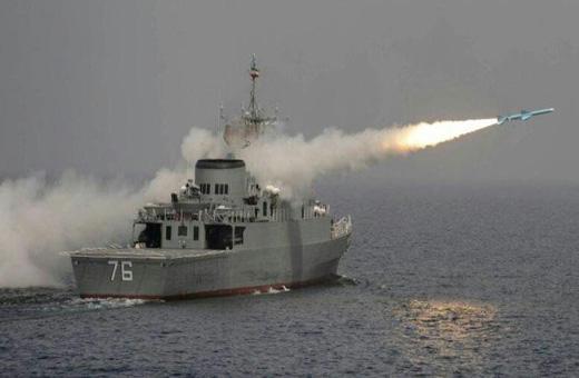 آمریکا: ایران در تنگه هرمز موشک ضدکشتی آزمایش کرد