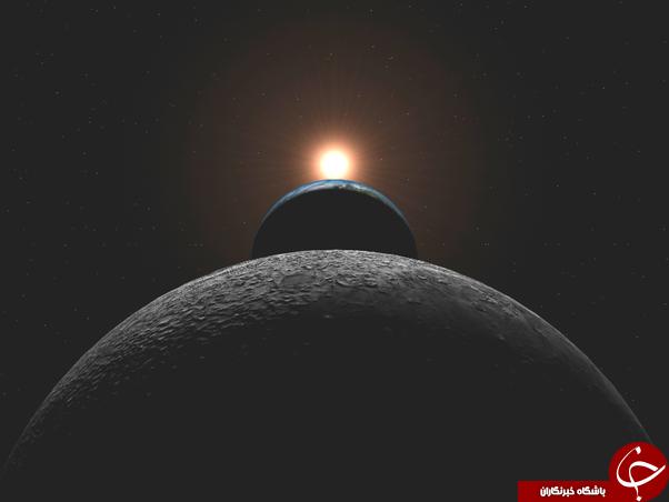 طلوع آفتاب در قطب شمال را ببینید+عکس