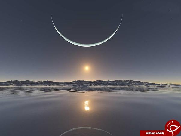 طلوع آفتاب در قطب شمال