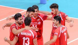 تیم ملی والیبال ایران به نیمهنهایی AVC کاپ صعود کرد