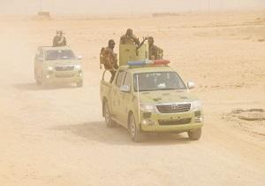 افزایش حضور نیروهای عراقی در مرز با سوریه
