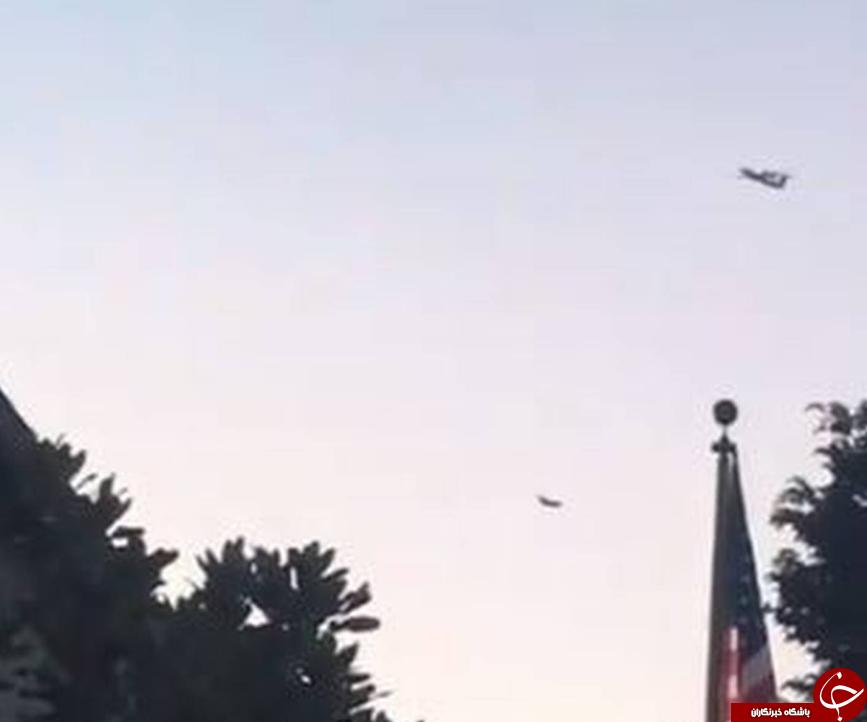 یک هواپیما در آمریکا ربوده شد