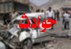 تصادف جاده ای 3 کشته و زخمی برجای گذاشت
