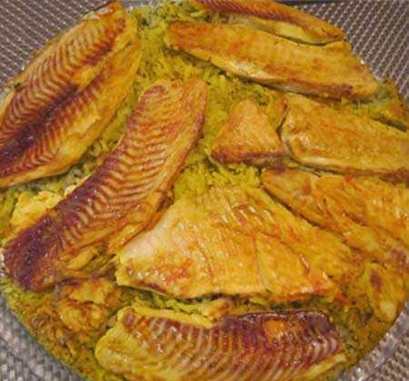 طرز تهیه ته چین تن ماهی