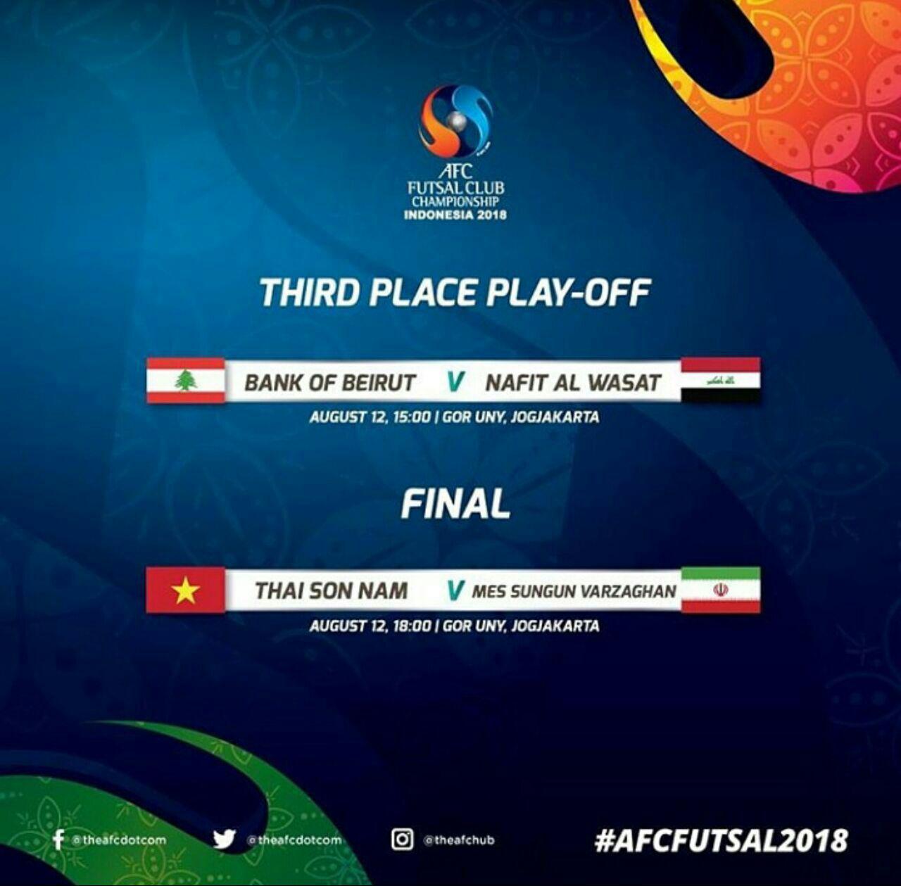 تای سون نام آخرین حریف مس تا طلا شدن/ مس سونگون در یک قدمی قهرمانی جام باشگاه های فوتسال آسیا