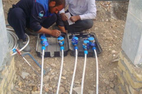 ۷۰۰ متر توسعه شبکه آبرسانی در کوهبنان