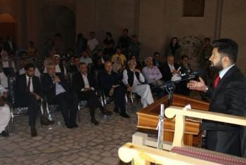 نخستین جشنواره غزل پارسی در هرات به کار خود پایان داد