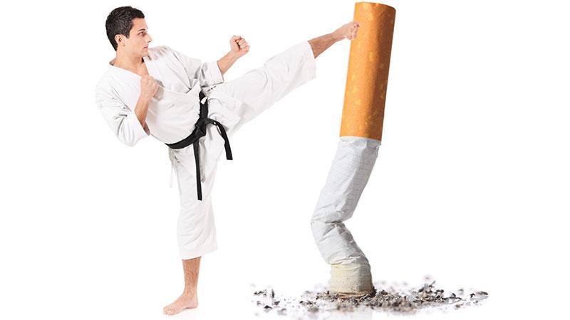 تأثیرات ترک سیگار بر بدن انسان+اینفوگرافیک