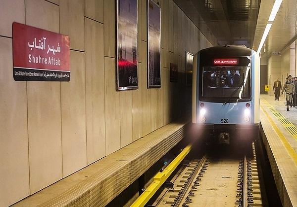 اجرای سیستم کنترل هوشمند ریلی در ایستگاه متروی شهر آفتاب