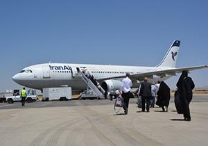 اعزام چهاردهمین پرواز حجاج از فرودگاه همدان