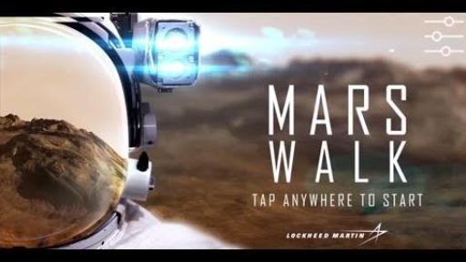 لذت تماشای مناظر مریخ با استفاده از دوربین واقعیت مجازی +فیلم