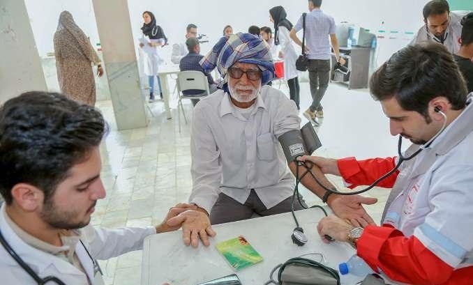 بیش از ۴۴ هزار بیمار در سیستان و بلوچستان ویزیت رایگان شدند