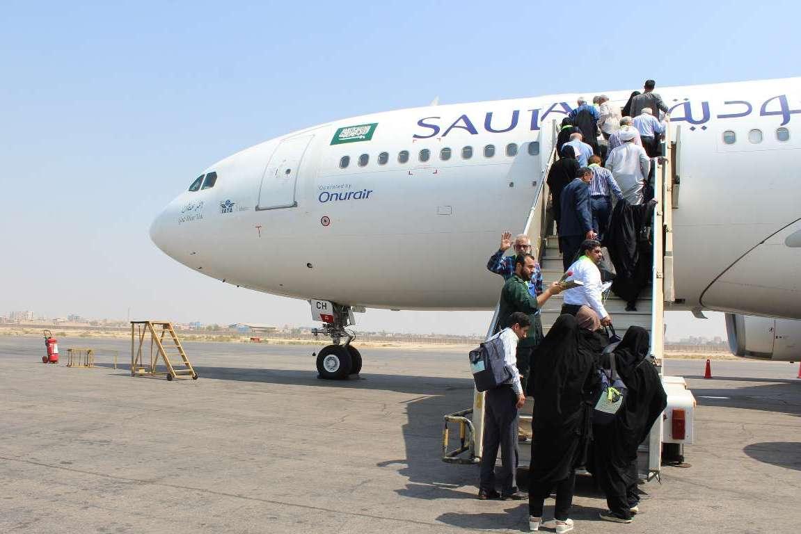 عملیات اعزام حجاج خراسانی به حج تمتع از فرودگاه بین المللی مشهد پایان یافت