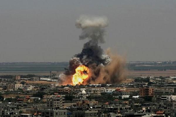 حمله هوایی رژیم صهیونیستی به شهرک بیت حانون در نوار غزه