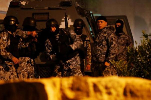 درگیری نیروهای امنیتی اردن با افراد مسلح