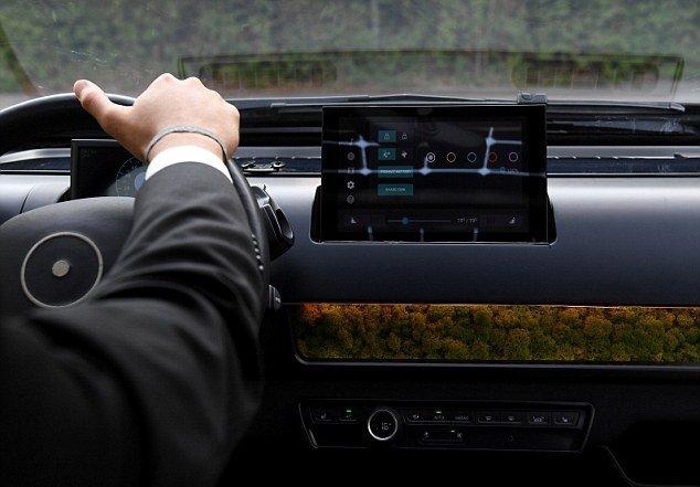خودروی هوشمندی که با خزه تهویه می شود!+ تصاویر