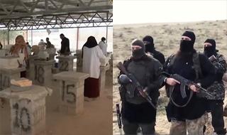 اقدام تحسینبرانگیز سوریها مقابل ویرانیهایی که داعش به جا گذاشت
