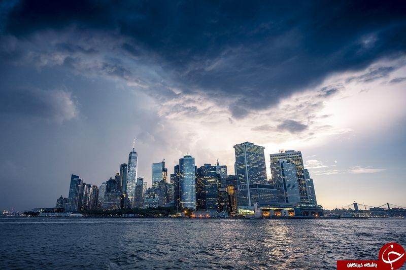 طوفان منهتن در عکس روز نشنال جئوگرافیک