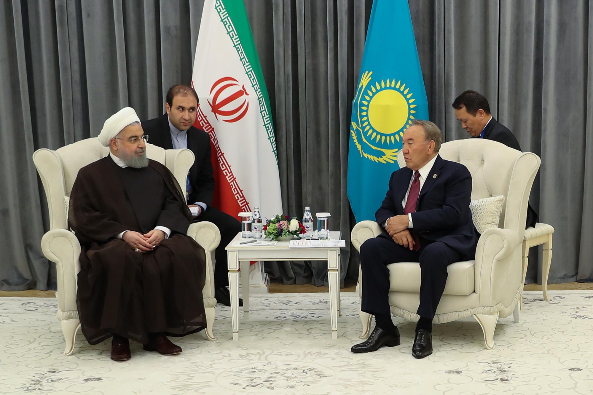ظرفیتهای ترانزیتی ایران و قزاقستان مکمل یکدیگر و در راستای منافع دو ملت و منطقه است