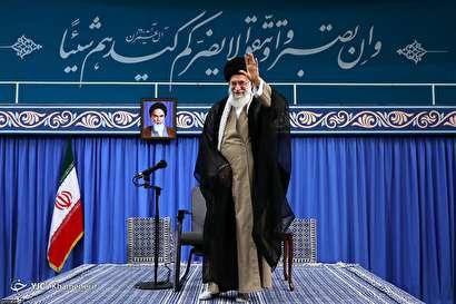 باشگاه خبرنگاران -دیدار هزاران نفر از قشرهای مختلف مردم با رهبر معظم انقلاب اسلامی