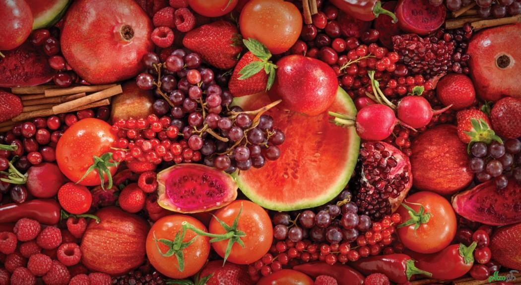 خواص فوق العاده خوراکی های قرمز + اینفوگرافیک