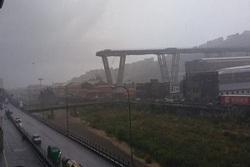 دستکم ۳۵ کشته بر اثر ریزش پلی در ایتالیا+ تصاویر