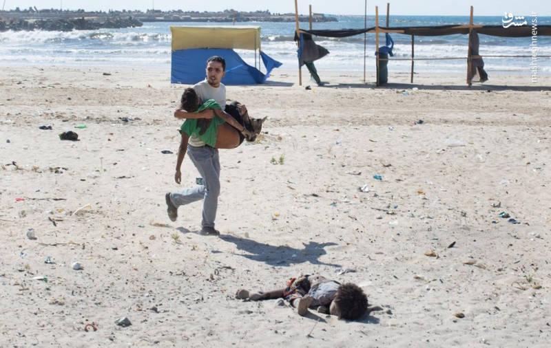 مسابقه کودککشی رژیم سعودی و رژیم صهیونیستی با سلاحهای آمریکا +عکس و فیلم