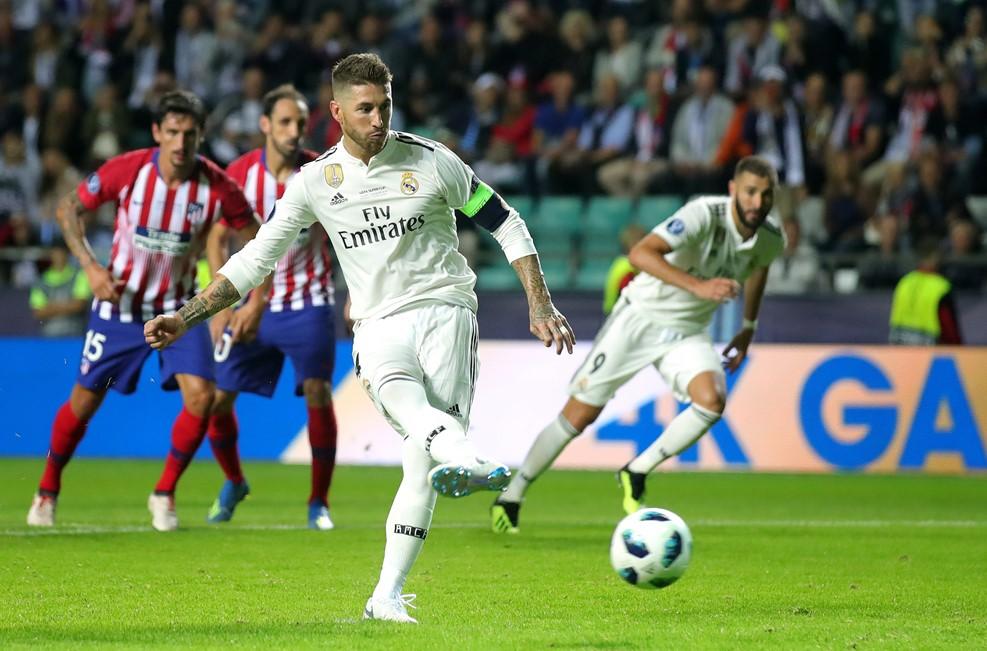اتلتیکو مادرید 1 - رئال مادرید 2/گزارش لحظه به لحظه